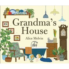 The long-awaited new book from best-selling illustrator and designer Alice Melvin features highly detailed illustrations that will absorb readers of all ages. Cut-out windows and gate folds transform the book into a house to be explored.<br><br>Grandma's House is a story about a little girl who often visits her grandmother's house where everything is different, but always the same.<br><br>Children will love exploring the rooms in Grandma's House, peering through its cutout pages from one…