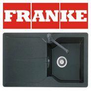 Pachet Franke chiuveta tectonite MTD 611 reversibila, Grafite + baterie Bahia Grafite Home Deco, Graffiti