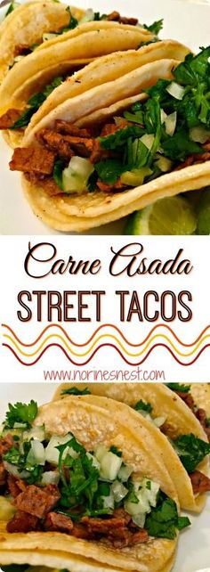 "These fun mini street tacos are perfect for little hands and BIG appetites! They are yummy with a capital ""Y""!"