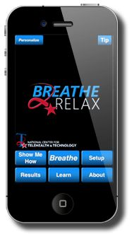 Breathe2Relax is a portable stress management tool.
