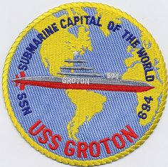 USS Groton (SSN-694); Los Angeles Class (F1); #7 of 38 LA Class boats; Decommissioned