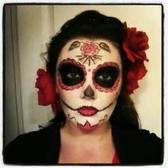 Sugar Skull Makeup Costume - Bing Images