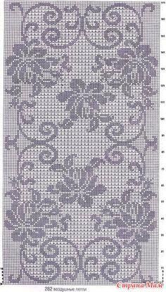 "Photo from album ""nov 2016 6 on Yandex. Crochet Tablecloth Pattern, Manta Crochet, Crochet Diagram, Nov 2016, Views Album, Yandex Disk, Crochet Tablecloth, Crochet Table Runner, Cross Stitch"