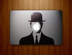 Magritte-inspired Son of Man