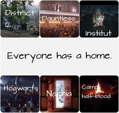 books, divergent, harry potter, percy jackson, the hunger games, the mortal instruments, First Set on Favim.com, multifandom