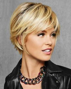 - Textured Fringe Bob Synthetic Wig by Hai. - – Textured Fringe Bob Synthetic Wig by Hai… – Short Bob Hairstyles, Pretty Hairstyles, Textured Hairstyles, Medium Hair Styles, Curly Hair Styles, Great Hair, Hair Today, Synthetic Hair, Hair Dos