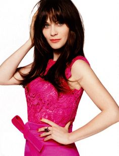 Zooey Deschanel Instyle (US) April, 2013 Jessica Day, Instyle Magazine, Zooey Deschanel, Golden Globe Award, Celebrity Hairstyles, New Girl, American Actress, Celebs, Singer