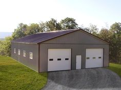 "Building Dimensions: 40' W x 60' L x 12' 4"" H (ID# 387)  Visit: http://pioneerpolebuildings.com/portfolio/project/40-w-x-60-l-x-12-4-h-id-387-total-cost-30065  Like Us on Facebook! https://www.facebook.com/Pioneer.Pole Call: 888-448-2505 for any questions!"