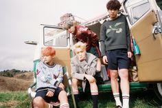 BTS Concept Photos: Hwa Yang Yeon Hwa YOUNG FOREVER — V, Jin, Suga, Jungkook