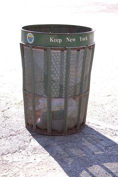 Trash Can DSNY - New York City Department of Sanitation - Wikipedia, the free encyclopedia