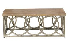 Compton Coffee Table, Natural