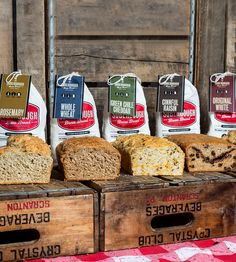 Beer Bread Mixes - Set of 5   Each bag in the five pack sampler makes a tasty loaf of bread-...   Bread & Pastry Dough