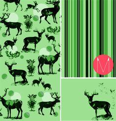 Deer by Monas