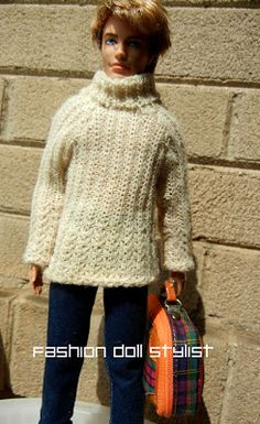 Fashion Doll Stylist: Sweater Girl