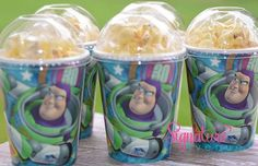 Story Birthday Party Cups-Popcorn Box-Set of 8 Toy Story Theme, Toy Story Buzz, Toy Story Party, Baby Boy Birthday, Toy Story Birthday, 3rd Birthday Parties, 2nd Birthday, Birthday Ideas, Festa Toy Store
