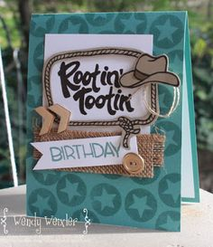 Wickedly Wonderful Creations: Rootin' Tootin' Birthday