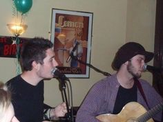 Dan Smith (Bastille) and Raph from to kill a king >>>> DAN'S HAIR IS SO SHORT OMG