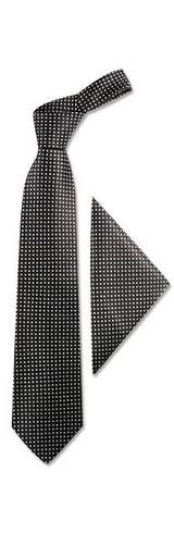 **New arrival** -Polkadots Silk Tie & Pocket Square -   Forzieri silk ties encompass classic Italian elegance for a refined man. Made in Italy.