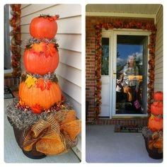 Fall Porch Decor!