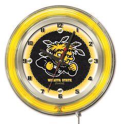 "Clock 19"" Dia. - Wichita State University"