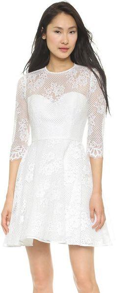 Monique Lhuillier Mignon A Line Dress