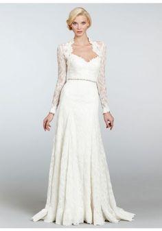 Sweetheart Draped Chapel Train Lace A Line Wedding Dress