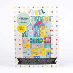 Jubel, jubelshop.no, house, skyline, kidsdesign, kids interior, wallstickers, barneromsdesign, norskdesign