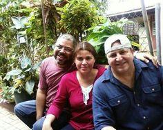 Carlos, Maritza y Frank