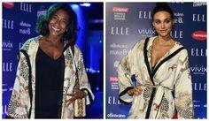 Glória Maria e Débora Nascimento usam a mesma roupa (Foto: Roberto Teixeira / EGO)