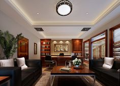 Modern China CEO Office Interior Design