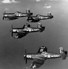 Vought F4U Corsair2, WWII.