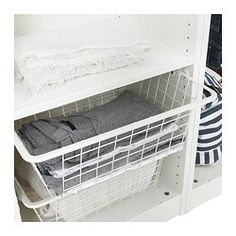 1000 images about kitchen organization on pinterest wire baskets ikea and - Profondeur dressing ikea ...