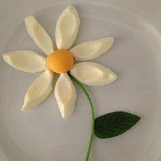 boiled egg flower