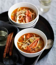 Rustic Italian seafood soup (Brodetto) | On the side | Scoop.it