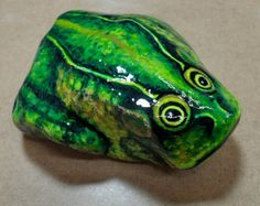 Love Message Hand Painted Rock by KarensFineCrafts on Etsy