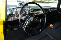 Vintageoriginal 1958 chevy bel air steering wheel horn ring 1958 chevrolet impala steering wheel hot rod network sciox Choice Image