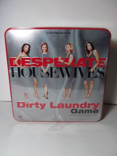 Desperate Housewives Dirty Laundry Game By Cardinal Trivia TV 2005 -Collectible  #Cardinal