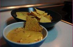 9 meses: Dip de Queso con Nachos (Restaurante Vip's)