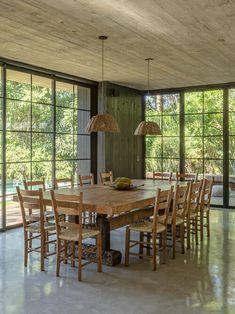 ANEXO CHALÉ MAIRIPORÃ — Macro Arquitetos Layouts Casa, House Layouts, Home Building Design, House Design, Future House, Home Interior Design, Interior Decorating, Design Bauhaus, Sweet Home