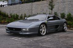 In my opinion the most beautiful Ferrari ever - Ferrari F355 Berlinetta - Atlanta Streets