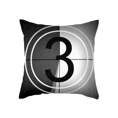 Great for your home theater | Movie Countdown Pillow Cover | dotandbo.com  www.RonMaurerPhotography.com
