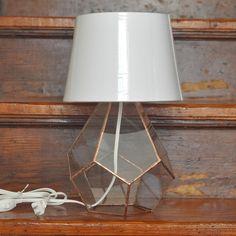 """limited edition copper """"companion lamp"""""""