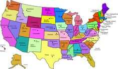 printable map of the US - mark the states I\'ve visited   Craft Ideas ...