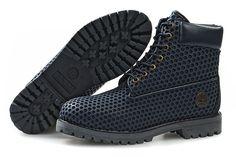 "TIMBERLAND CUSTOM > ""Nest"" Boots, 6"", Black"