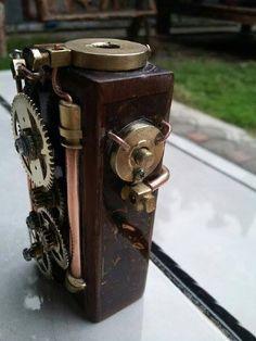 Borobudur mechanical box mod - стимпанк говорите?