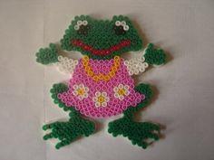 Frog hama perler by zabicra