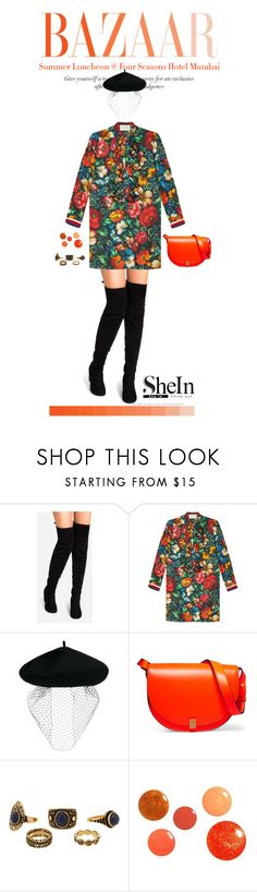 """""""Four seasons"""" by s0f1a ❤ liked on Polyvore featuring Gucci, Silver Spoon Attire and Victoria Beckham"""