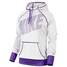 Nike All Time Graphic Hoodie - Women's - Training - Clothing - Black/Pink Foil