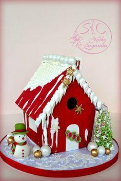 ΣΕΜΙΝΑΡΙΟ ΧΡΙΣΤΟΥΓΕΝΝΙΑΤΙΚΟ ΜΠΙΣΚΟΤΟΣΠΙΤΟ Μια ακόμη εκδοχή του Gingerbread house και φέτος Ζαχαρόπαστα και Royal icing Ένα δημιο...