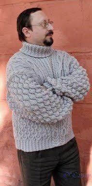 Men's Royal Sweater | AllFreeKnitting.com